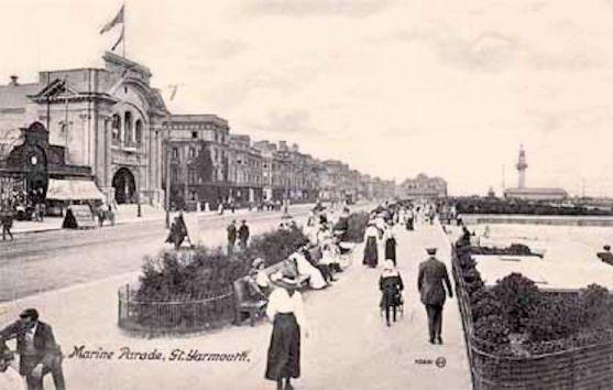 Yarmouth Raid (marine parade 1910)