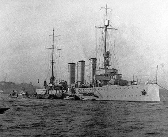 Yarmouth Raid (SMS Kolberg)