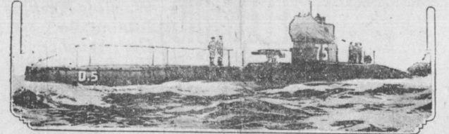 Yarmouth Raid (Submarine HMS_D5)