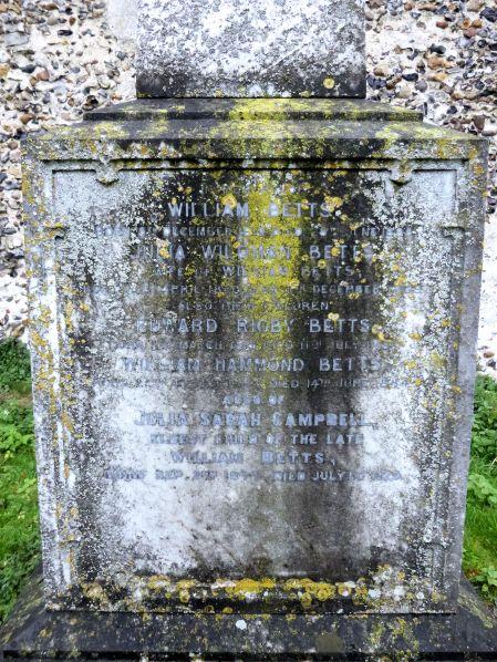 Scole Railway (Betts Grave)