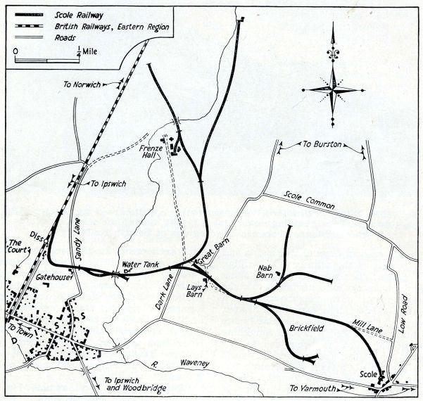 Scole Railway (Map_ Carol Gingell)