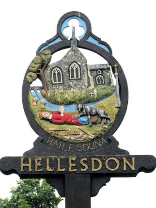 Hellesdon (Village Sign)1