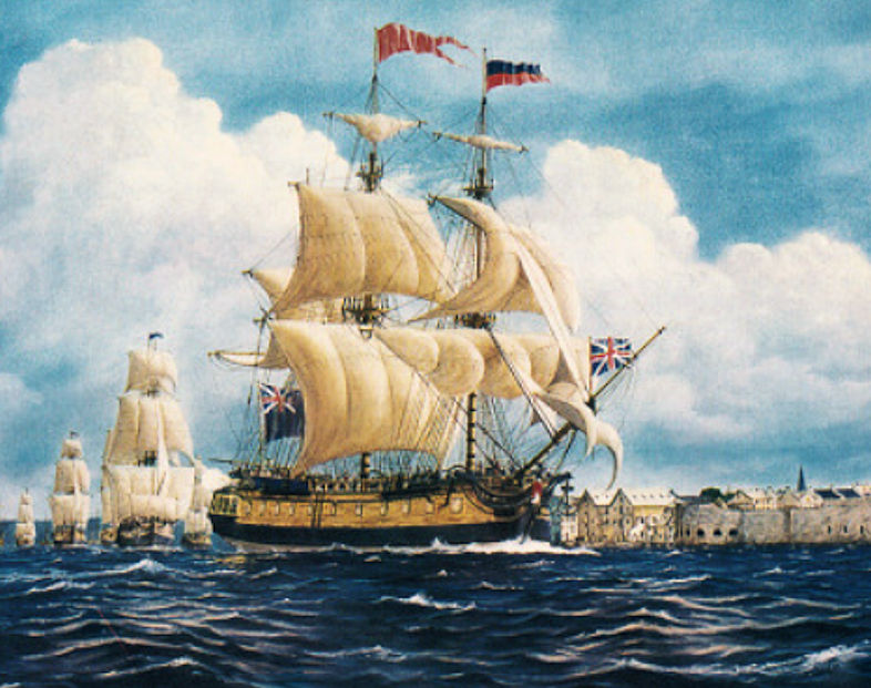 Susannah Holmes (The First Fleet leaving Portsmouth)1