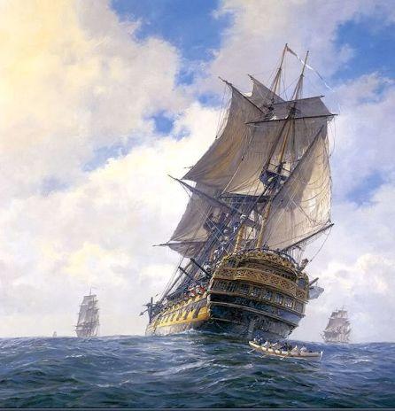 Thurtell (HMS Bellona off Brest)