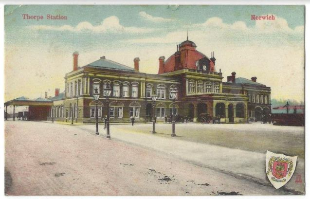 TRD (Thorpe Station circa1890)