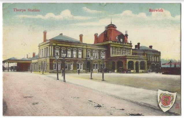 TRD (Thorpe Station circa1890)