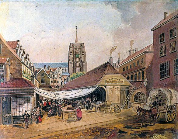 Celia Fiennes (Fish Market)