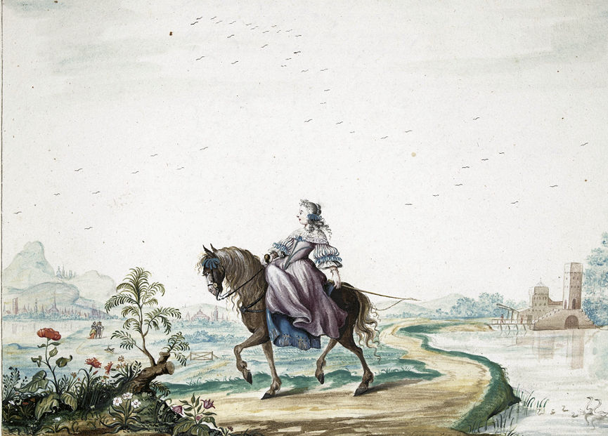 Celia Fiennes: Rides Side Saddle To Norwich!