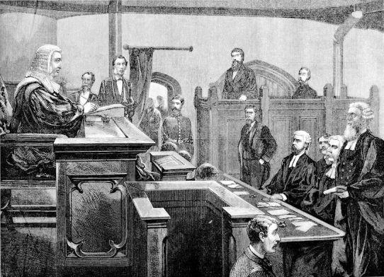 Tittleshall Murder (Court Scene)