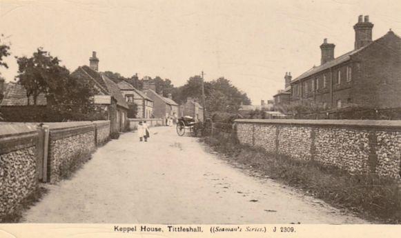 Tittleshall Murder (Street Scene_late 19th C)