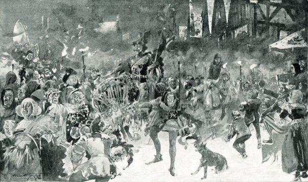 Medieval Christmas (reveling)