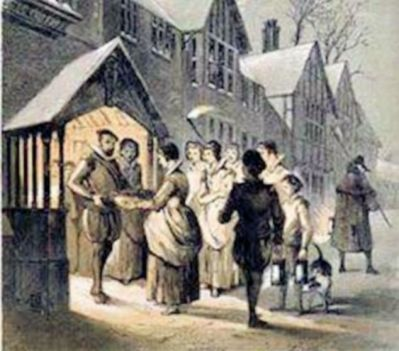 Tudor Christmas (Carol Singing_Pinterest)