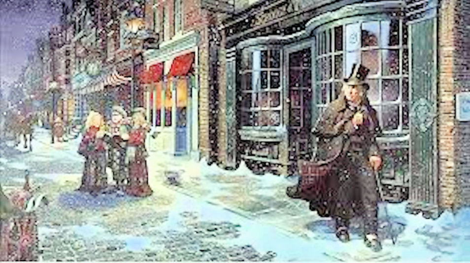 5. Christmas: Victorian Style!