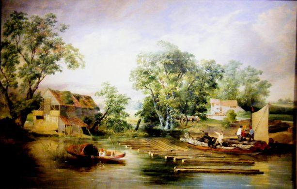 Taverham Suicide (Painting_Norfolk Museum_Service)