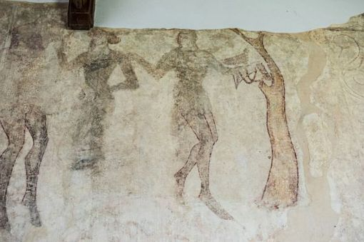 Wickhampton Legend (Wall Painting)2a