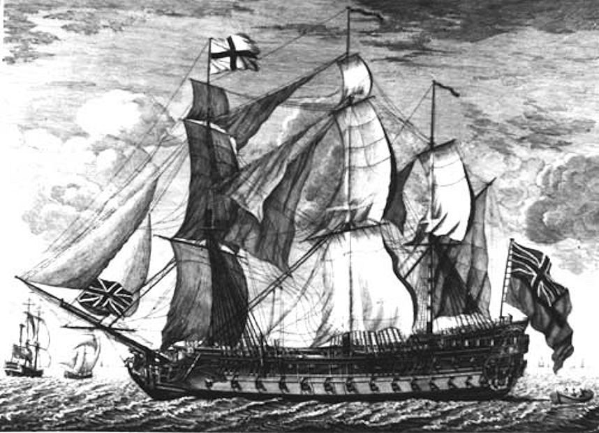 The Fate of HMS Invincible – 1801