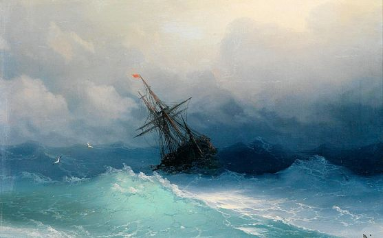Invincible (Ship in Storm)