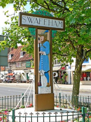 Pedlar of Swaffham (Village Sign)