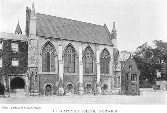 Francis Howes (Norwich Grammar School)
