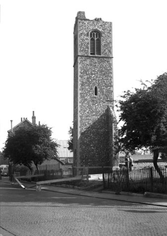 St Michael's (Tower before Demolition)