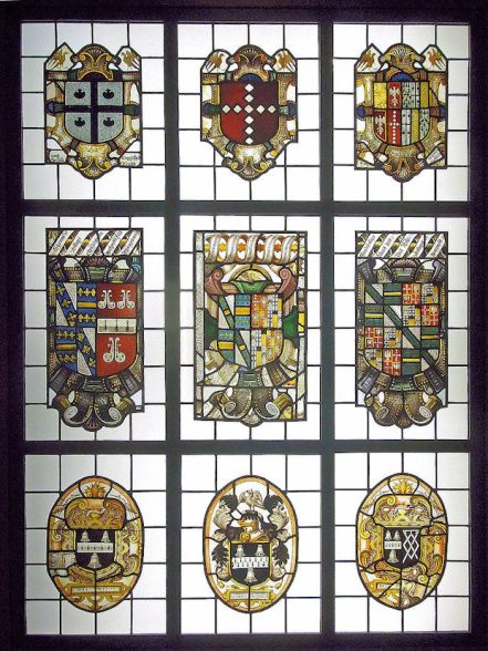 Beaupre Hall (Stained Glass Panels)