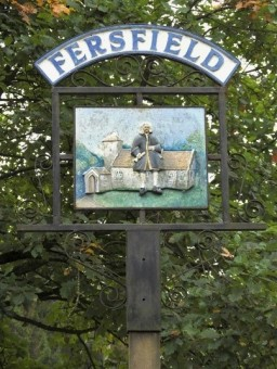 Fersfield & Blomefield (Village Sign)