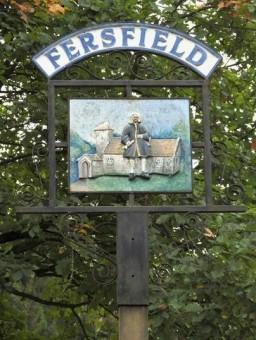 Fersfield & Blomefield (Village Sign)
