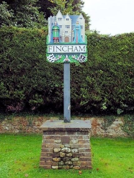 Fincham (Village Sign)