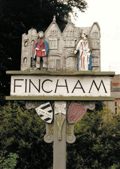 Fincham (Village Sign)2