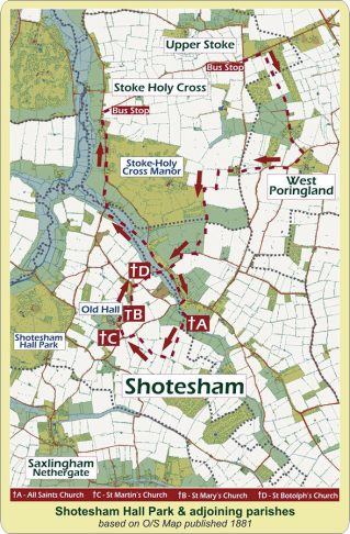Shotesham (Map)1
