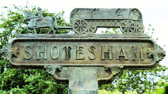 Shotesham (Village Sign)6