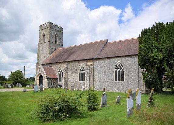 Sharing Churchyards (Antingham_St Mary's)