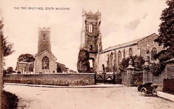 Sharing Churchyards (South Walsham_St Marys)