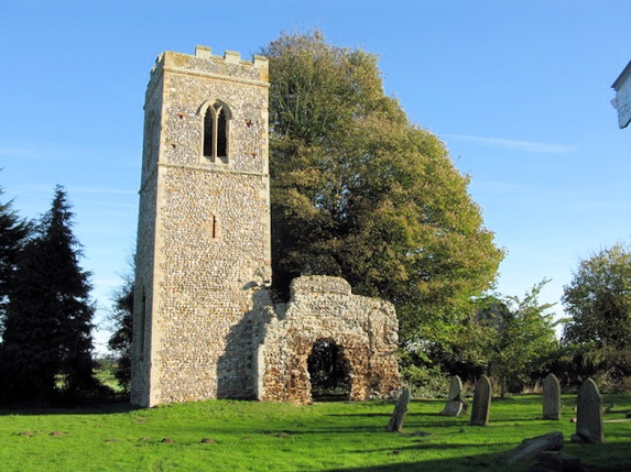 Sharing Churchyards (St Marys_Melton Constable)