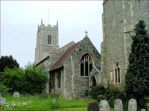 Sharing Churchyards (Whitwell_St Michael)