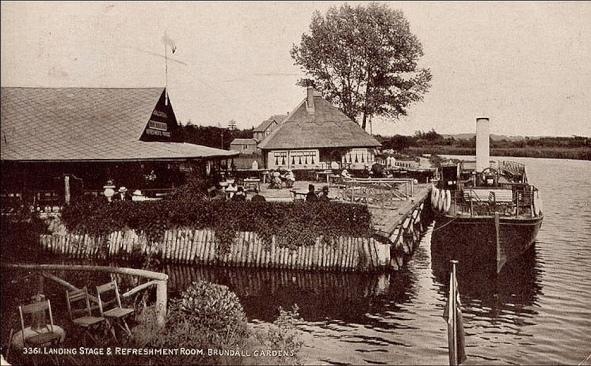 Brundall Gardens (Landing Stage & Refreshment Room, 1920s-30s )