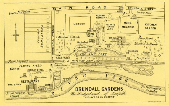 Brundall Gardens (map)2