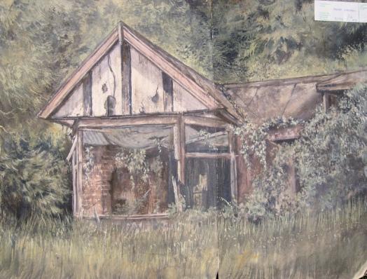 Brundall Gardens (Mayhew's Painting)