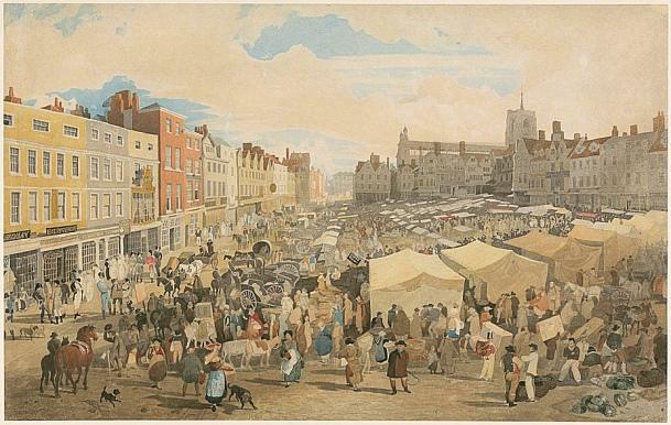 Cloudesley (Norwich Market 180 ((John Sell Cotman_Tate)