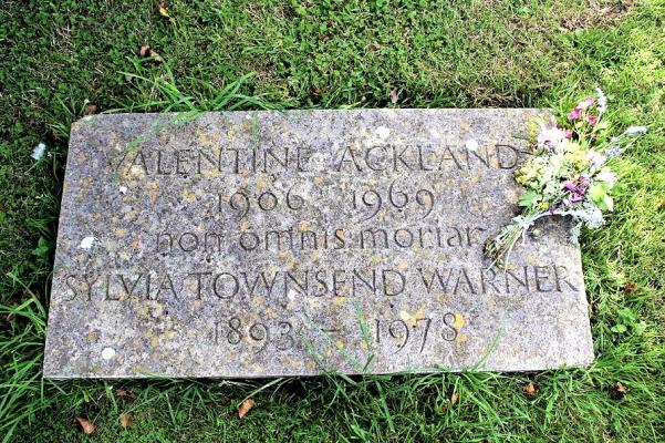 Sylvia Warner (Headstone)