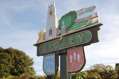 Sylvia Warner (Sloley Village Sign)