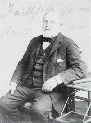 Joseph Arch (Signed Photo_1900)