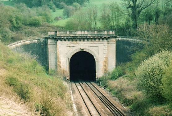 Rev W V Awdry (Box Tunnel_West Portal_Wisbech Society)