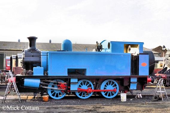 Rev W V Awdry (Engine No 1800_Thomas_NIck Cottam)