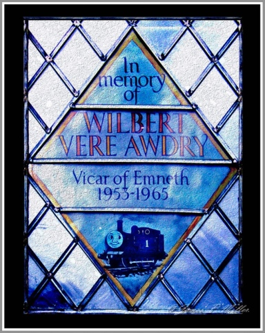 Rev W V Awdry (Memorial Window_James P MIller)