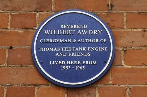 Rev Wilbert Awdry (Plaque 2011_Ian Burt)