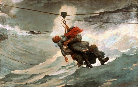 SS Hjørdis (Breeches Buoy)