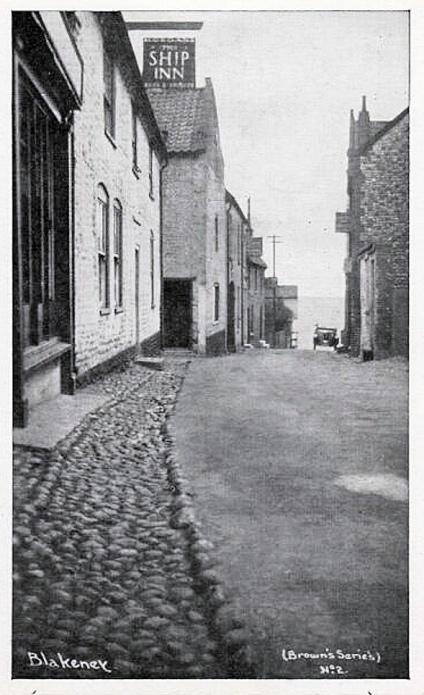 SS Hjørdis (Ship Inn_Postcard)