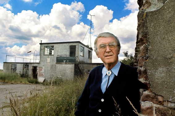 James Stewart (1975 Visit to Tibenham)2