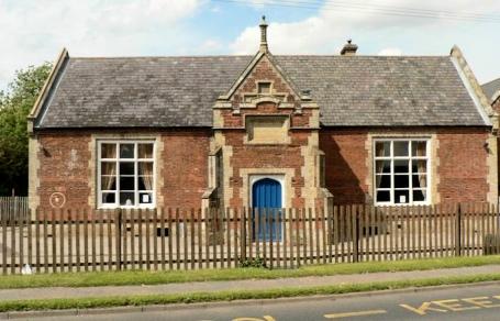 The 1850 rebuilt Scarning Free School